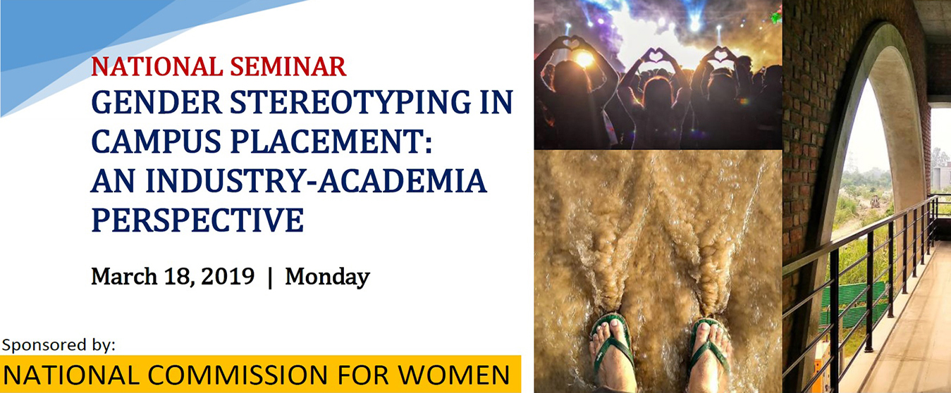 National Seminar on Gender Stereotyping in Campus Placement